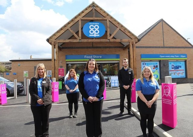 The opening of the new Lincolnshire Co-op