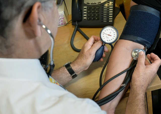Sharp spike in patients making GP appointments in Cambridgeshire and Peterborough last month. Photo: PA EMN-210430-163147001