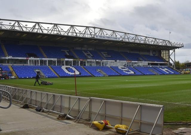 Peterborough United's Weston Homes Stadium. EMN-201030-170609009