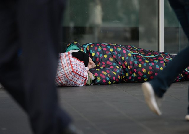 Nearly 300 households in Peterborough were assessed as homeless or threatened with homelessness last winter. Photo: PA EMN-210430-172321001