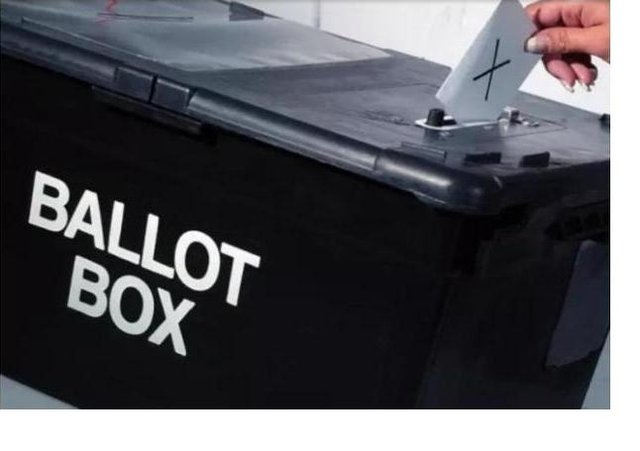 Polling stations are open from 7am to 10pm.