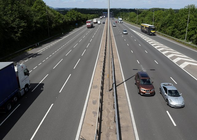 The number of miles covered by cars in Peterborough plummeted by a quarter last year with travel impacted by the coronavirus lockdown, figures show. Photo: PA EMN-210605-145105001