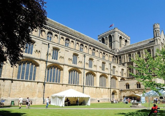 The Cloisters at Peterborough Cathedral