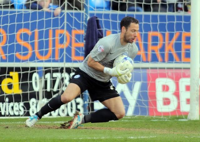 Mark Tyler in action.