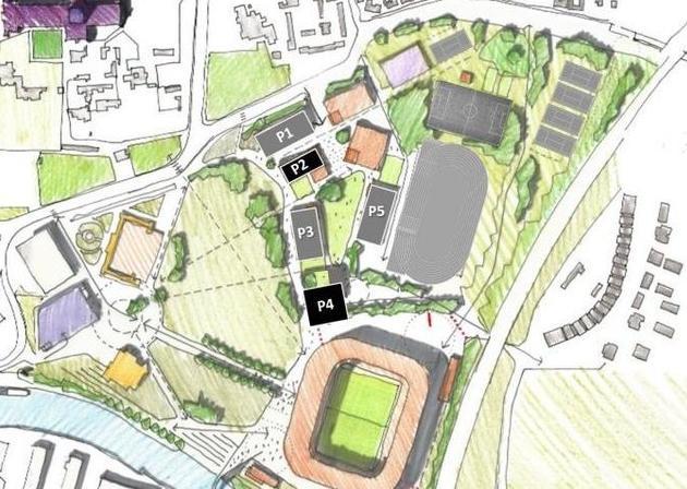 A site plan for ARU Peterborough