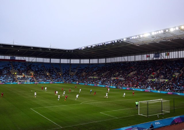 Coventry City are back at the Ricoh Arena next season. Photo: Getty Images.