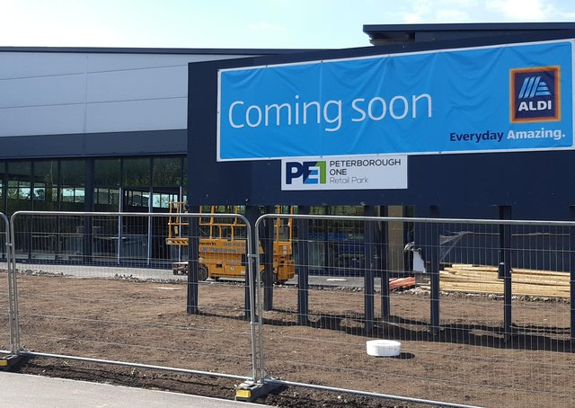The new Aldi store at Peterborough One Retail Park is to open tomorrow (June 10.)
