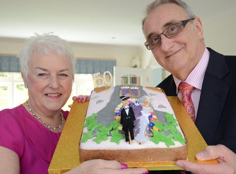 John and Barbara celebrate their golden wedding EMN-150404-104525009