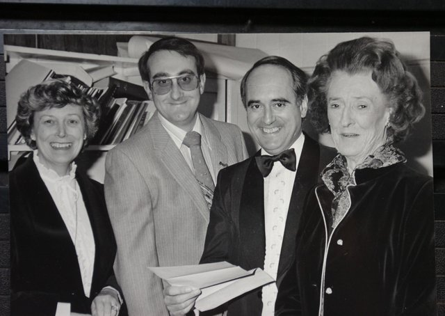 John Holdich (second from left) with Brian Mawhinney in 1982