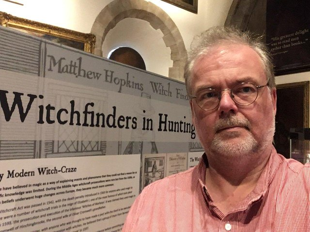 Stuart Orme, curator of The Cromwell Museum.