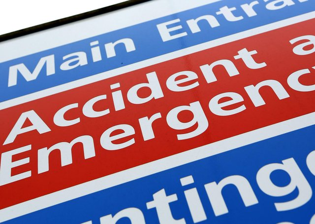 Rise in visits to A&E at Peterborough and Stamford Hospitals. Photo: PA EMN-210514-182936001