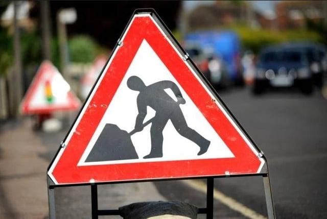 Roadworks will start tomorrow