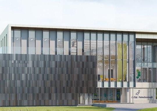 ARU Peterborough is set to open in September 2022