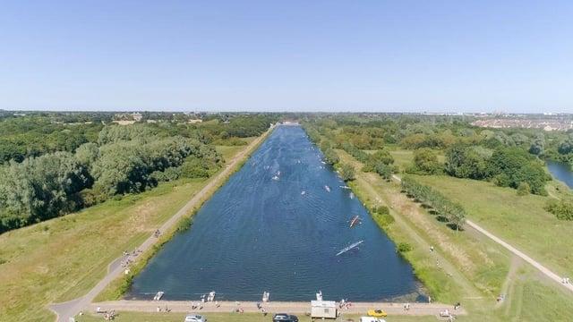 The rowing lake