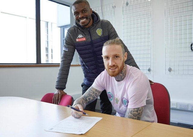 Gaby Zakuani and Marcus Maddison have teamed up again at Spalding United.