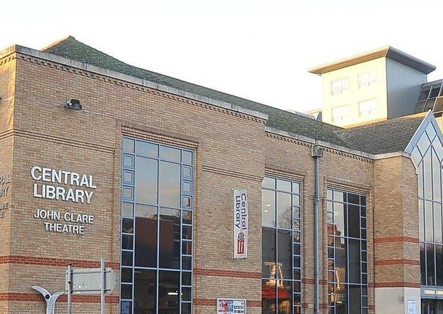 Central Library in Peterborough