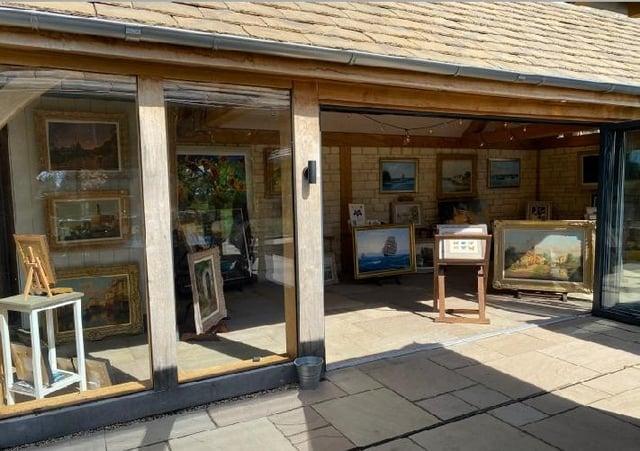 Gallery in the garden