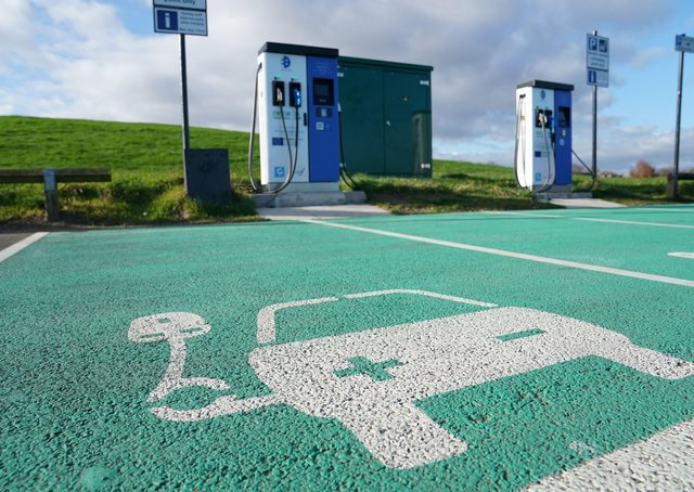 Rising number of electric vehicles in Peterborough. Photo: PA EMN-210520-233414001