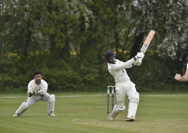 Reece Smith smacked 73 for Castor against Outcasts.