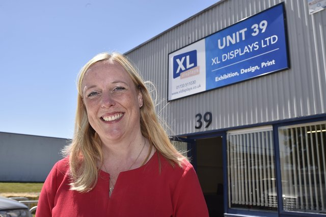 XL Displays chief executive Joanne Bass. EMN-180630-003400009