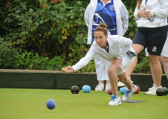 Sophie Morton beat reigning county champion Chris Ford.