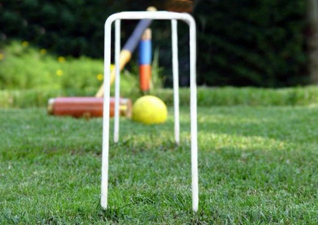 Croquet is available at Central Park.