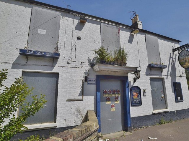 The former Cherry Tree pub in Oundle Road