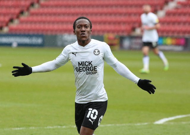 Siriki Dembele is expected to leave Posh this summer.