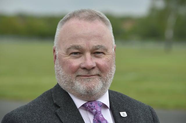 Council leader Wayne Fitzgerald EMN-210526-214543009