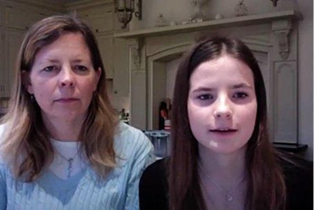 Georgie and Alice Bennett