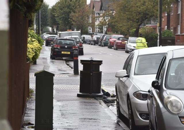 Alexandra Road in Peterborough.