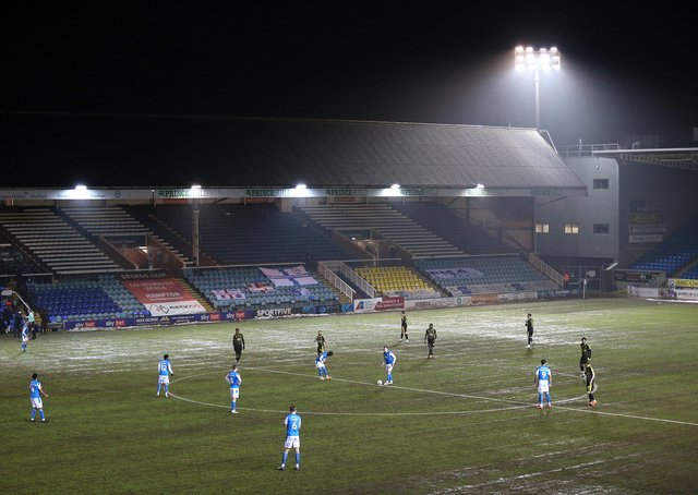 The Weston Homes Stadium will host Championship football next season.