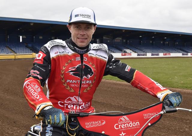 Bjarne Pedersen rode well for Panthers at Belle Vue.