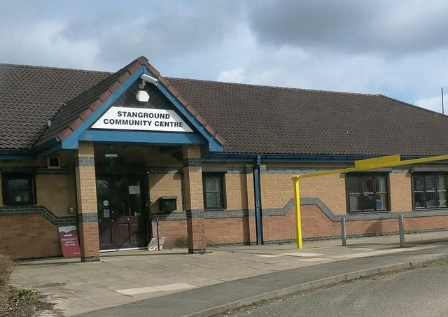 The George Alcock Centre on Whittlesey Road, Stanground.