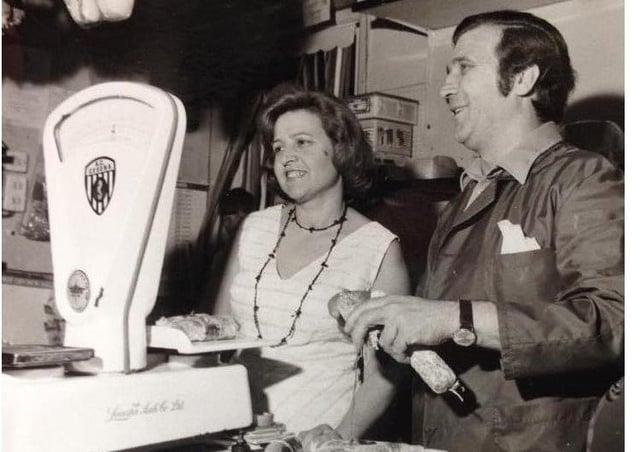 Edmonda and Carlo Broccoli.