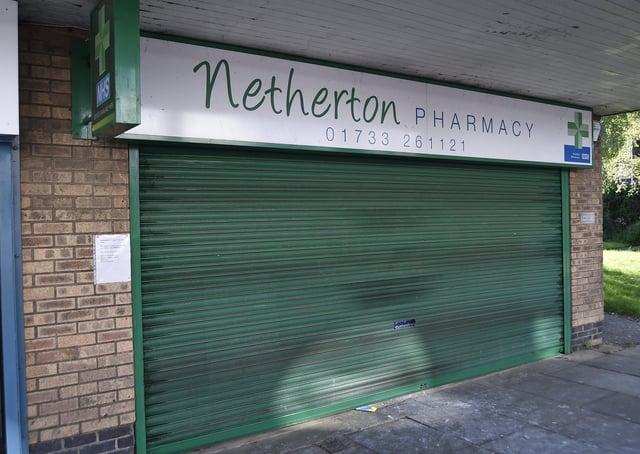 Netherton Pharmacy, Ledbury Road.