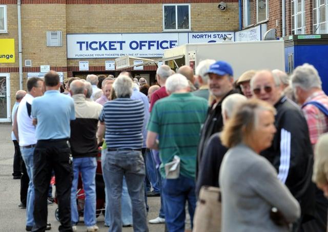 Posh season ticket sales are going well.