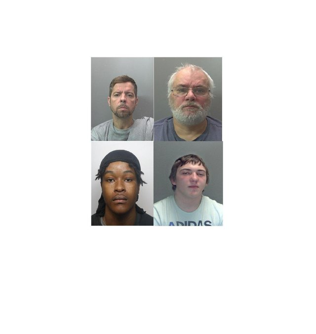 A number of criminals were jailed in May