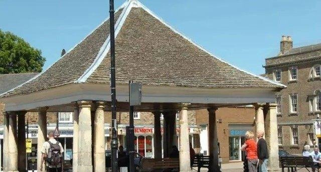 Market Square in Whittlesey