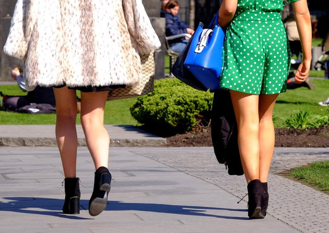 Scores of people reported being victims of upskirting last year, despite coronavirus restrictions limiting the amount of time people could spend outside their homes, figures show. Picture: Press Association.