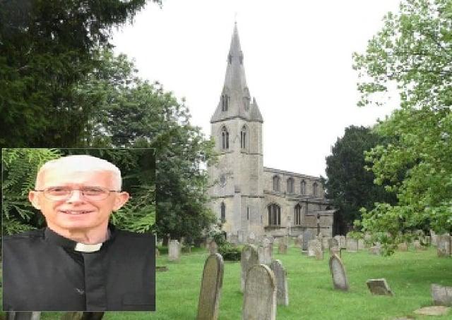 The new rector of All Saints Paston, Rev. Capt. Paul Nigel Whiteley