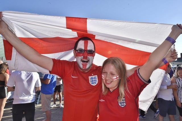 England finally win a penalty shootout!