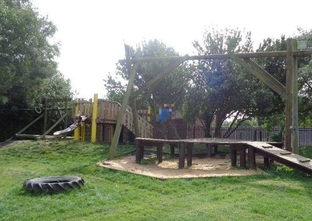 The adventure playground at New Ark