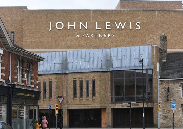 John Lewis at Queensgate shopping centre.  EMN-210324-141206009