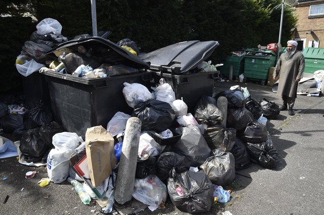 Fly-tipping at Berry Court