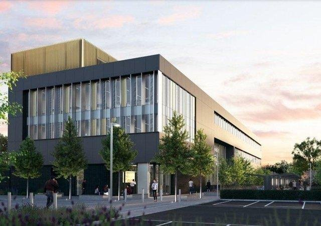 How the new research centre could look