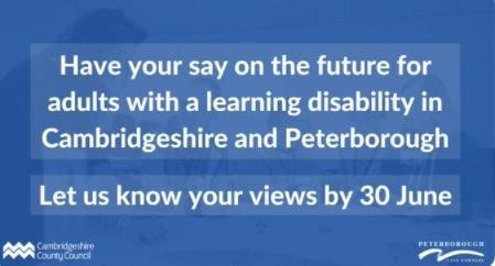 Adults in Peterborough and Cambridgeshire with a learning disability are being asked to take part in a survey