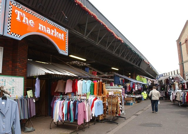 Peterborough's market is moving from its current location.