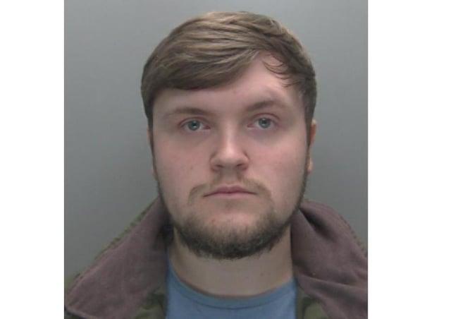 Sam Harber. Picture: Cambridgeshire police
