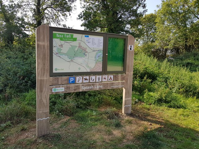 Nene Park in Peterborough